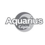 logo de la marca aquarius
